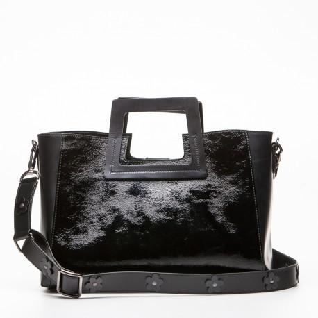 Carmen borsa donna in pelle nero
