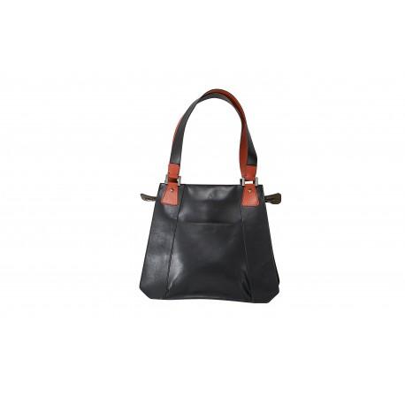 Veronique: borsetta donna in pelle rossa